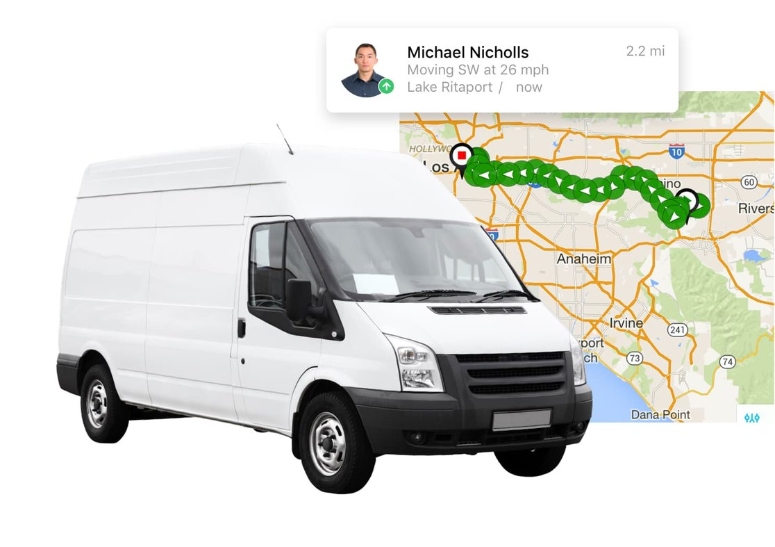 Near Real Time GPS Fleet Tracking System | Verizon Connect