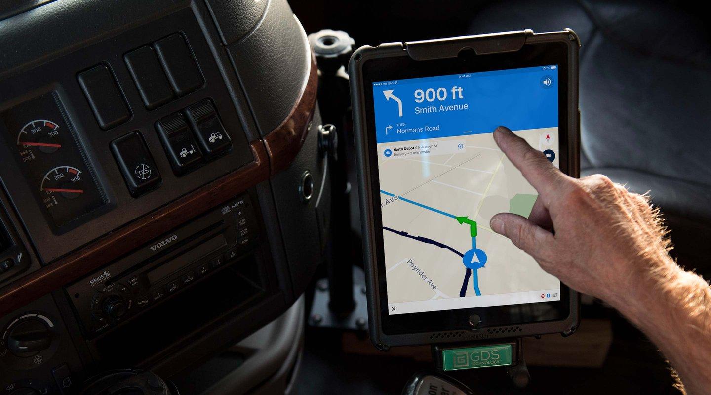 Software de Navegación de Camiones con GPS