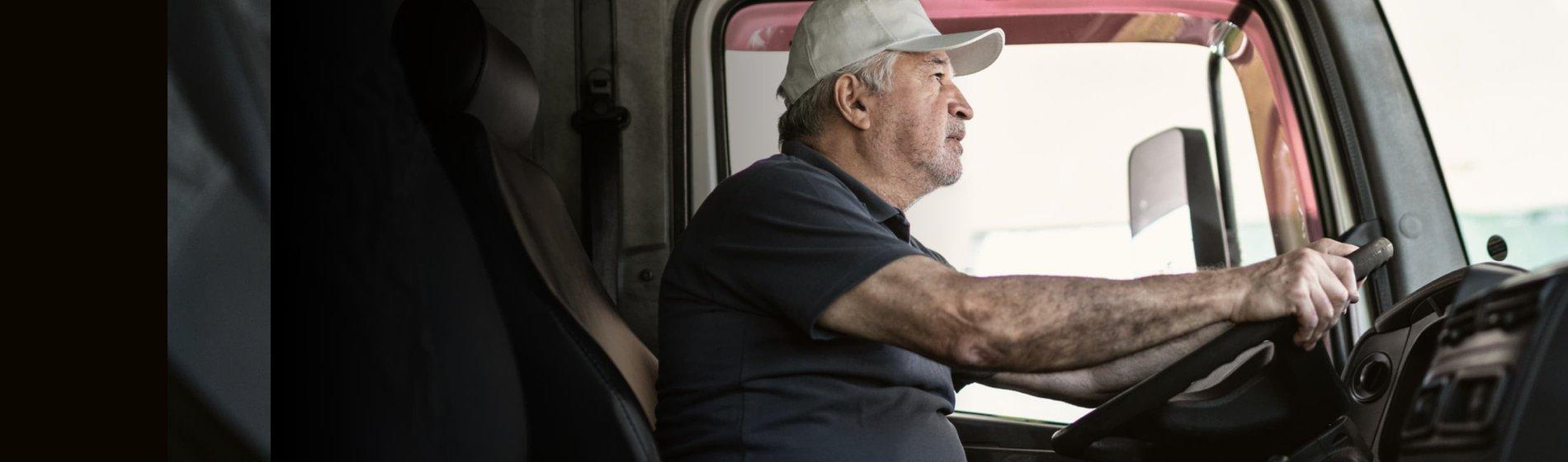 Geavanceerd gps-systeem voor vrachtwagenbestuurders