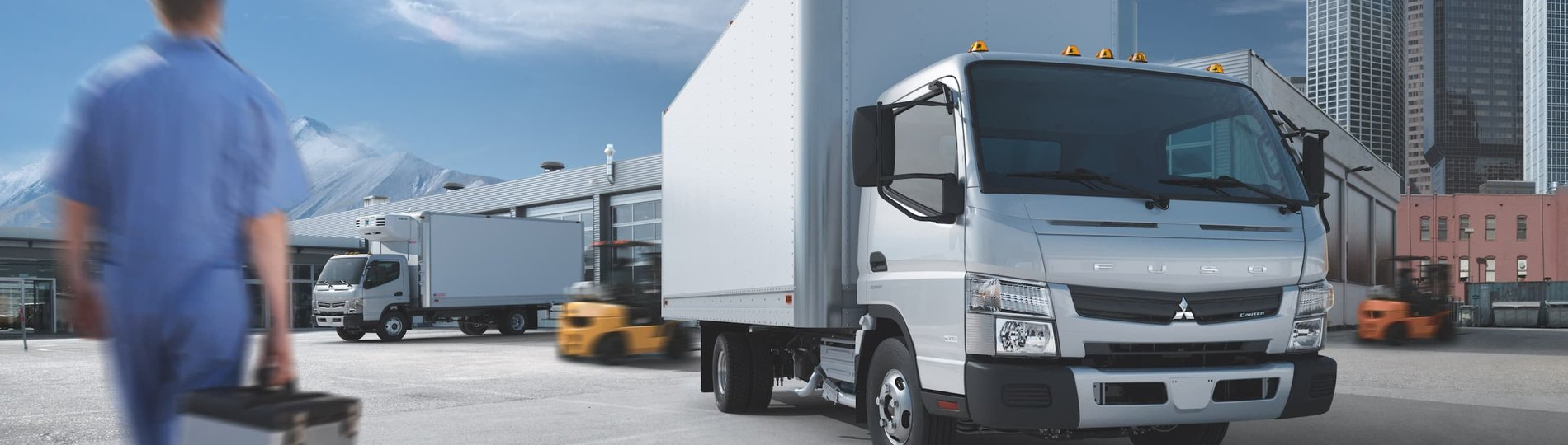 Simplify workforce management with Verizon Connect Fleet for FUSO