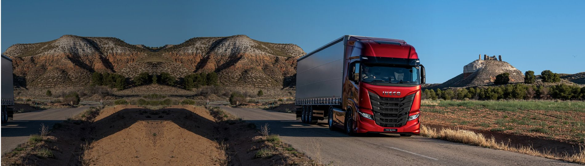 Fleet management solutions designed for your Iveco vehicles