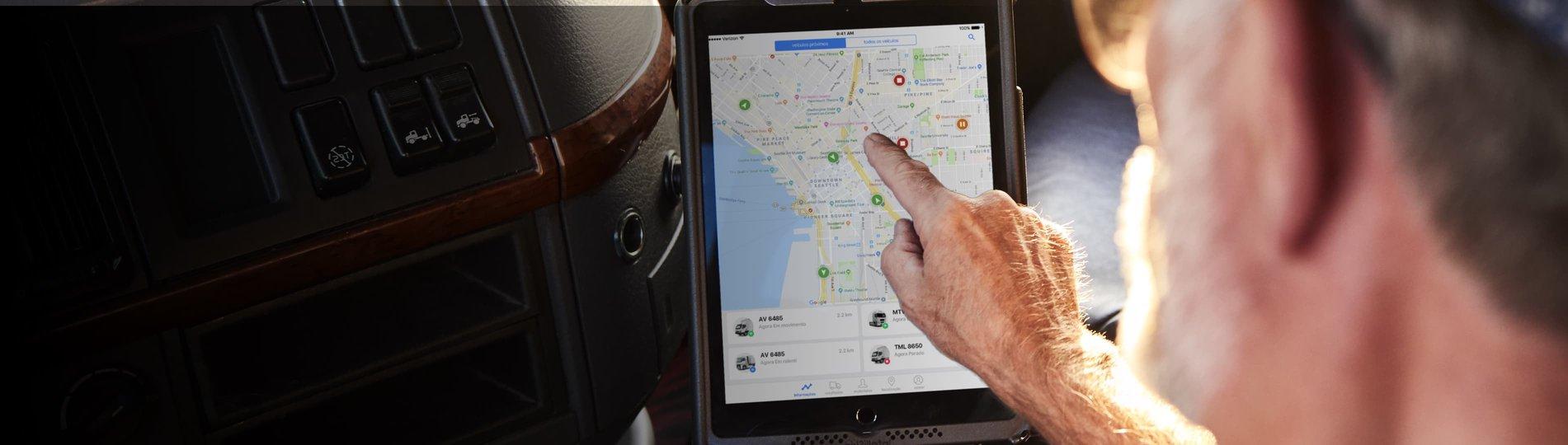 Soluções avançadas de localização de veículos